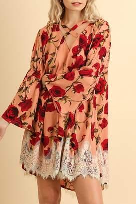 Umgee USA Foral Bohemian Lace