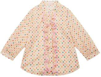 Zimmermann Laelia Ruffle Front Shirt