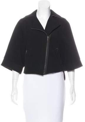 BCBGMAXAZRIA Long Sleeve Notch-Lapel Jacket