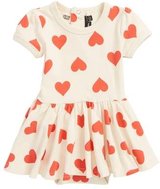 Rock Your Baby Sweetheart Skirted Bodysuit
