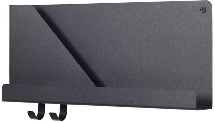 Muuto - Folded Shelves 51 x 22 cm, Schwarz