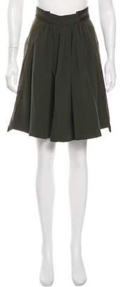 Zac Posen Knee-Length Wool Skirt