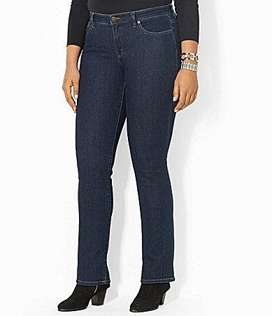 Lauren Ralph LaurenLauren Ralph Lauren Plus Super-Stretch Slimming Modern Curvy Jeans