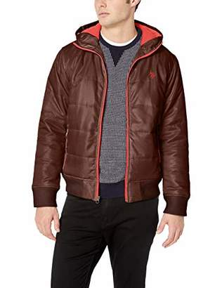 U.S. Polo Assn. Men's Hooded Puffer Jacket