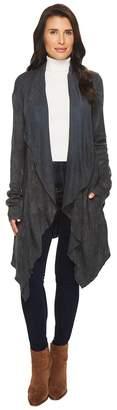 Mod-o-doc Chenille Sweater Knit Draped Cardigan Sweater Women's Sweater