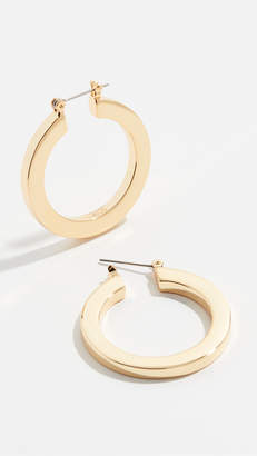 Luv Aj Celine Hoop Earrings
