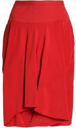 Rick Owens Layered Crepe Shorts