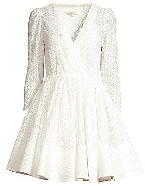 Maje Women's Ralina Guipure Lace Fit-&-Flare Dress