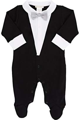 Lyda Baby Infants' Tuxedo Tails Footed Coverall