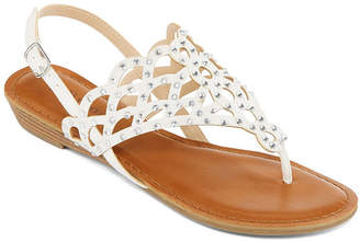 Zigi SOHO Girl Womens Maysie Slingback Strap Flat Sandals