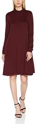 Pieces Women's Pcjasmin Ls Turtleneck Knit Dress,(Manufacturer Size: X-)