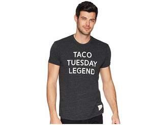 Original Retro Brand The Taco Tuesday Legend Tri-Blend Tee