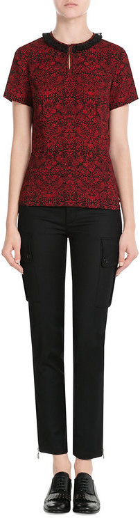Marc By Marc JacobsMarc by Marc Jacobs Printed Top with Collar