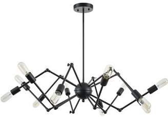 Light Society 12-Light Sputnik Chandelier Light Society