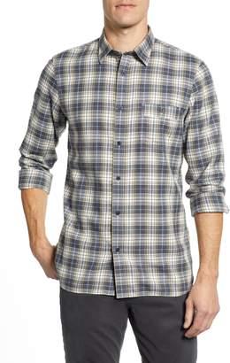 Nordstrom Trucker Regular Fit Plaid Flannel Shirt