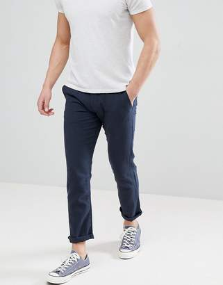Selected Linen PANTS In Tapered Fit