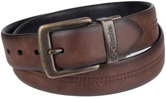 Columbia Men's Reversible Faux-Leather Belt
