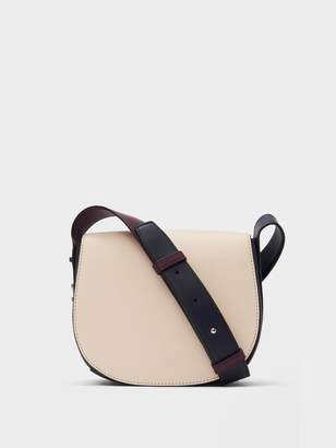 DKNY Bedford Leather Saddle Crossbody