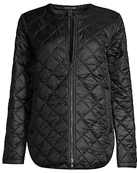 Eileen Fisher Women's Diamond Quilted Recylced-Nylon Jacket