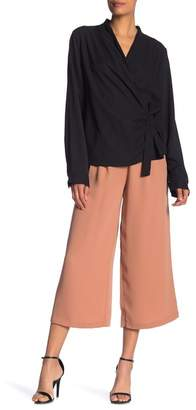 Elodie Front Pleat Cropped Pants