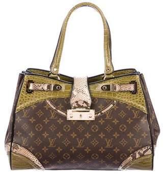 Louis Vuitton Python & Alligator Monogramissime Exotic Shopper GM