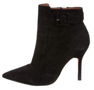 Elizabeth and James Suede Ankle Booties