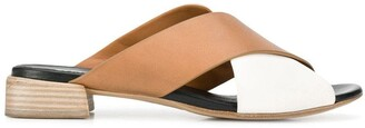 Marsèll crossover strap sandals