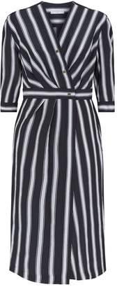 Sandro Striped Midi Dress