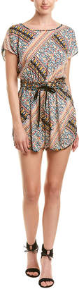 BCBGeneration Tie-Back Romper