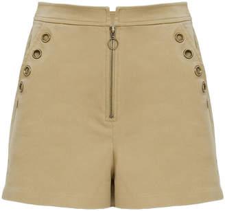Intermix Selma Grommet Shorts