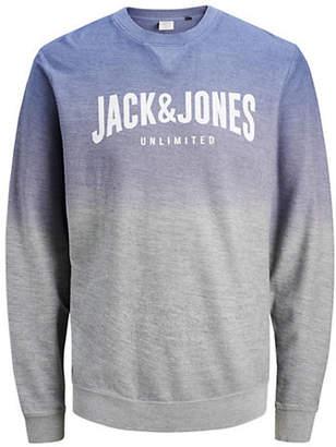 Jack and Jones Logo Cotton Sweatshirt