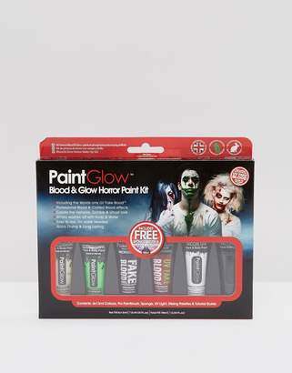 Beauty Extras PaintGlow Blood & Glow Horror Paint Kit
