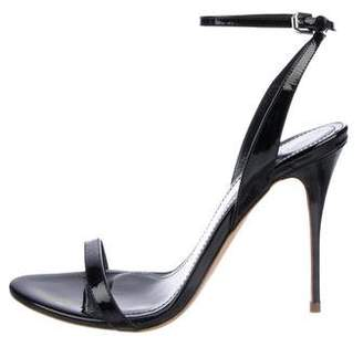 Polo Ralph Lauren Patent Leather Ankle-Strap Sandals