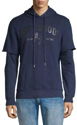 PRPS Cold Front Layered Hoodie