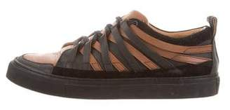 Damir Doma Multistrap Leather Sneakers