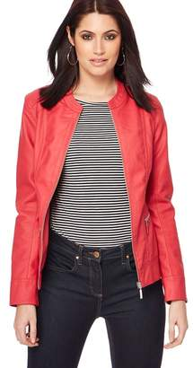 Principles Red Biker Jacket