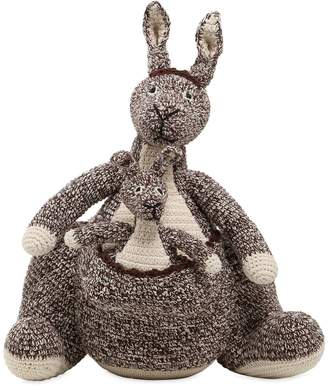 Anne Claire Petit Hand-crocheted Organic Cotton Kangaroo