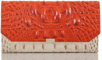 Brahmin Soft Checkbook Wallet Toucan