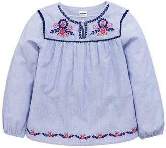 Very Floral Embroidered Top