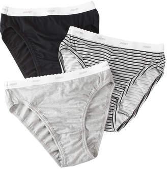 Jockey Classic 3 Pair High Cut Panty 9457