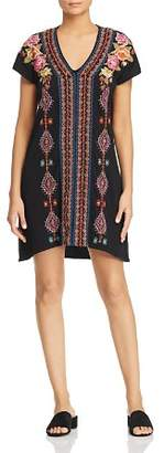 Johnny Was Vella Embroidered Tunic Dress