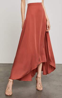 BCBGMAXAZRIA Jillian Asymmetrical Maxi Skirt