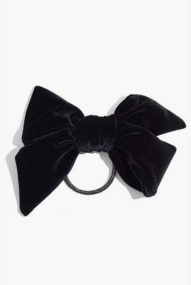 Country Road Velvet Bow Hair Tie