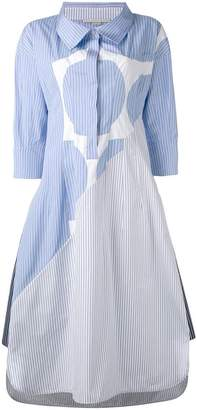 Stella McCartney long pinstripe shirt dress