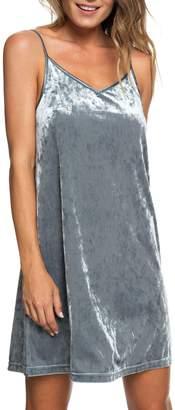 Roxy Sleepy Night Crushed Velvet Dress
