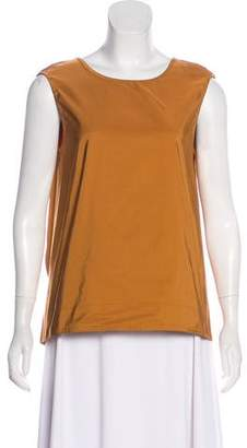 Marni Tie-Accented Sleeveless Top