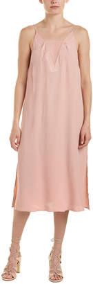 C/Meo Collective Vivid Midi Sheath Dress