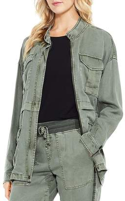 Vince Camuto Twill Utility Jacket