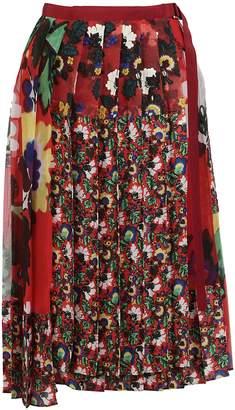 Sacai Flower Mix Skirt