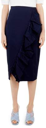 Ted Baker Cottoned On Malori Ruffled Skirt